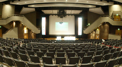 Concert Hall Full inside view